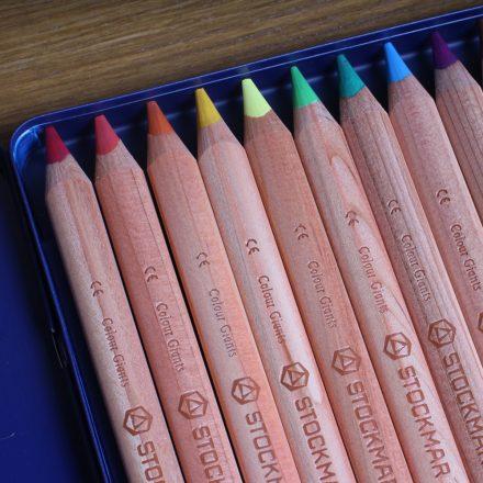Stockmar 12 színű ceruza fém dobozban - Art-makes