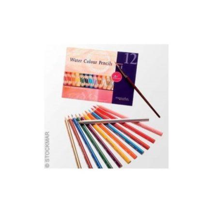 MERCURIUS AMS 12 színű akvarell ceruzakészlet ecsettel