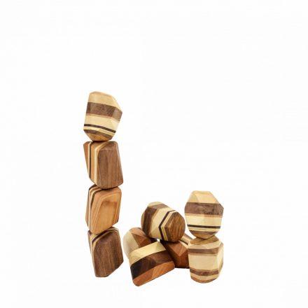 PINTER WOODS Egyensúlyozó kövek - natúr 10 darab